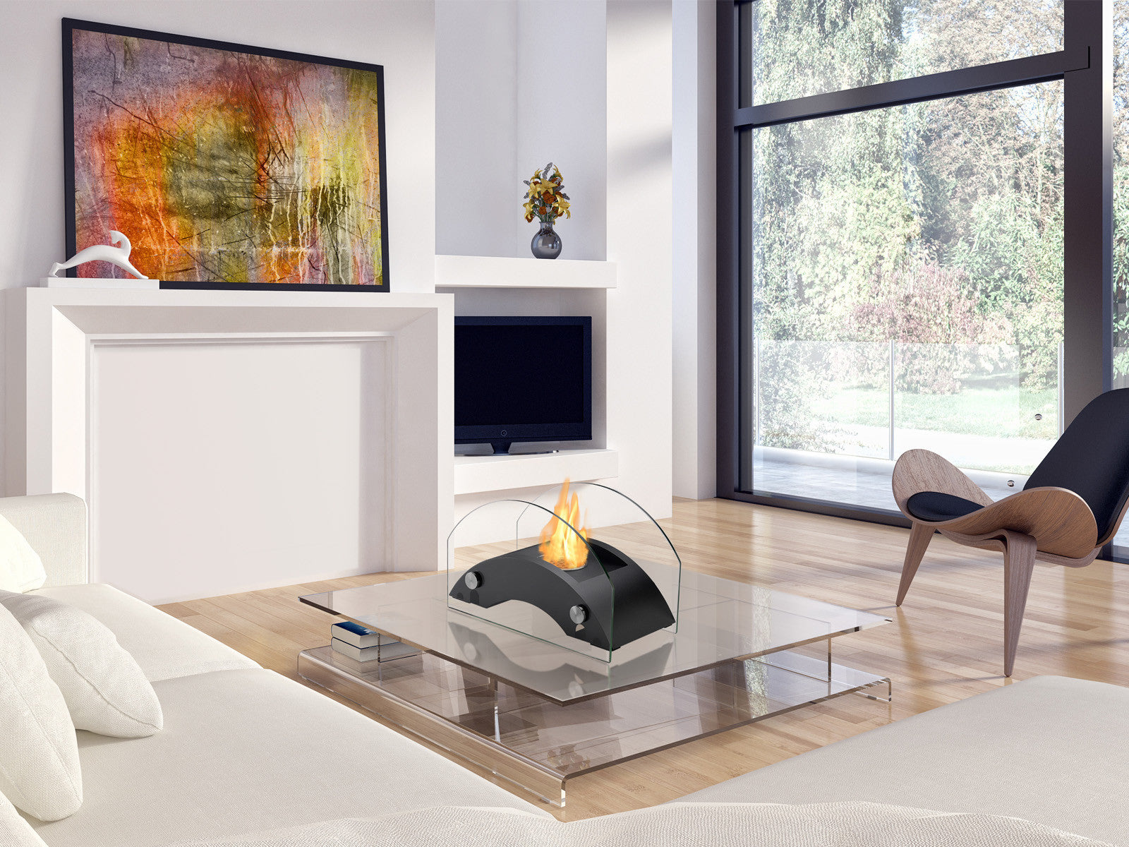 ... Harbor Tabletop Ventless Ethanol Fireplace   Ventless Fireplace Pros ...