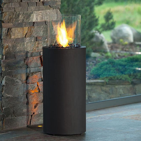 Totem Commerce Ethanol Fireplace - Ventless Fireplace Pros
