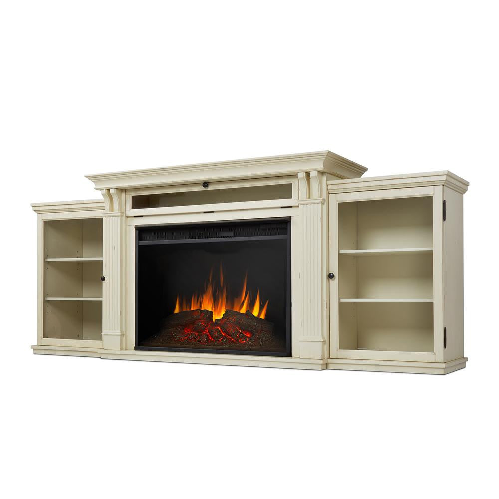 tracey grand entertainment center with electric fireplace
