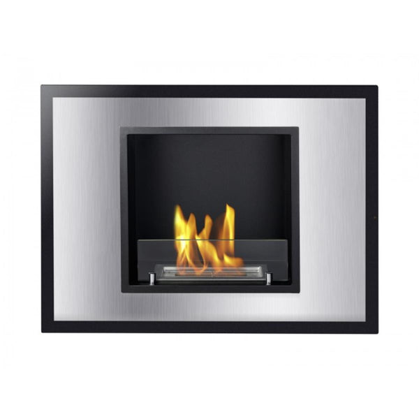 Vienna Recessed Ventless Ethanol Fireplace Ventless Fireplace Pros