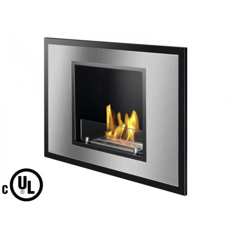 Vienna Recessed Ventless Ethanol Fireplace - Ventless Fireplace Pros