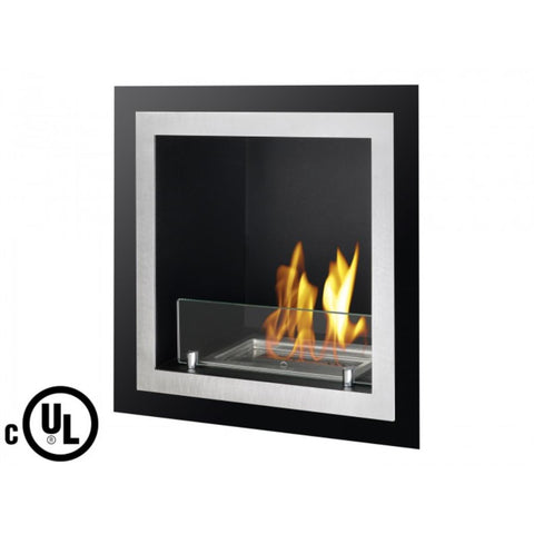 Antalia Recessed Ventless Ethanol Fireplace   Ventless Fireplace Pros