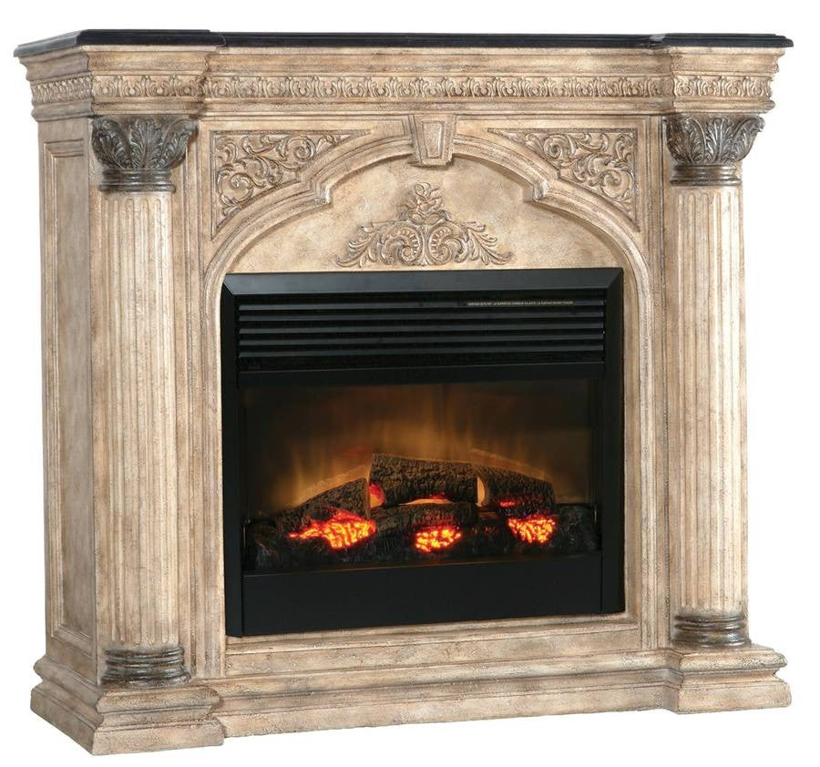Ambella Arch Electric Fireplace Mantel - Ambella Arch Electric Fireplace Mantel €� Ventless Fireplace Pros