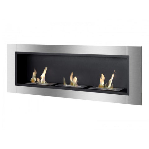 Ardella Wall Mounted / Recessed Ventless Ethanol Fireplace - Ventless Fireplace Pros