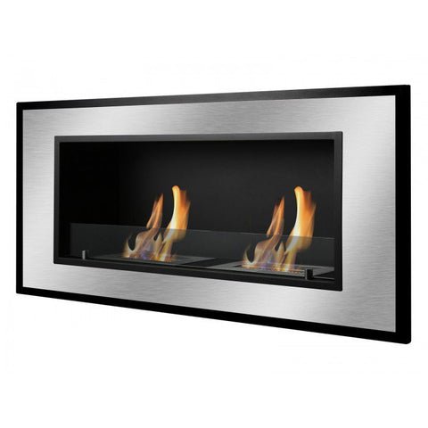 Bellezza Bio Ethanol Wall Mount or Recessed Fireplace - Ventless Fireplace Pros