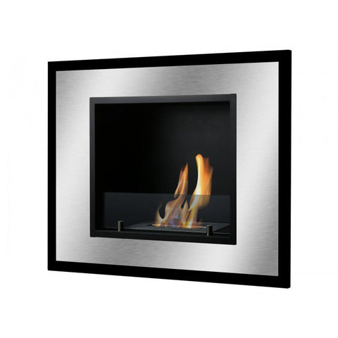 Bellezza Mini Bio Ethanol Wall Mount or Recessed Fireplace - Ventless Fireplace Pros