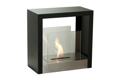 Ignis Tectum S Freestanding Bio Ethanol Fireplace - Ventless Fireplace Pros
