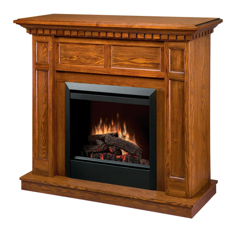 Dimplex Caprice Electric Fireplace in Oak