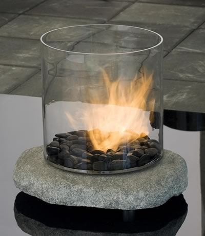 Chantico Stone Biofuel Fireplace