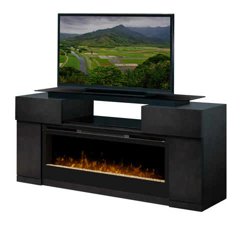 Dimplex Concord Electric Fireplace Media Console