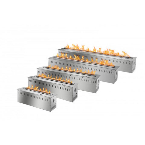 Smart Bio Ethanol Electronic Burner - Stainless Steel - Ventless Fireplace Pros