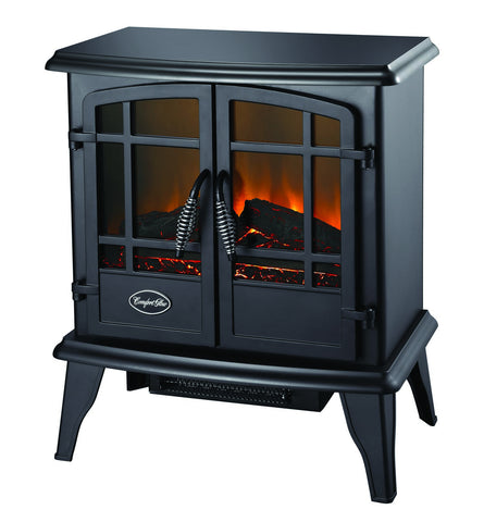 The Keystone Electric Stove in Black