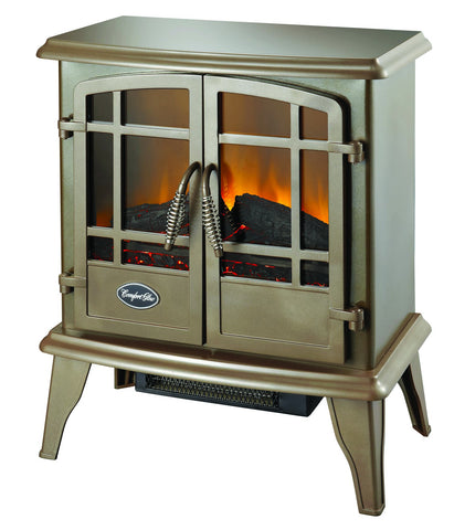The Keystone Electric Stove in Bronze