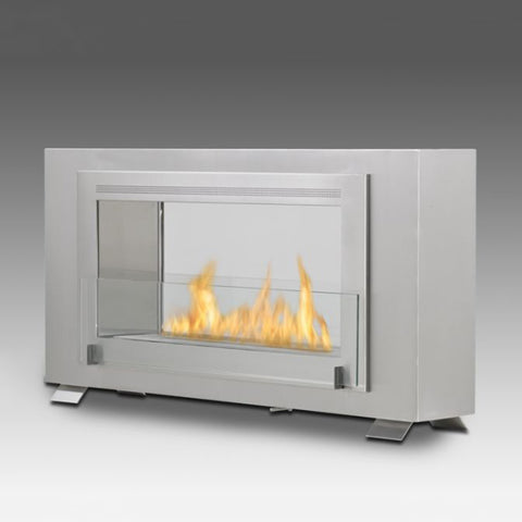 Eco-Feu Montreal 2-Sided Biofuel Fireplace - Ventless Fireplace Pros