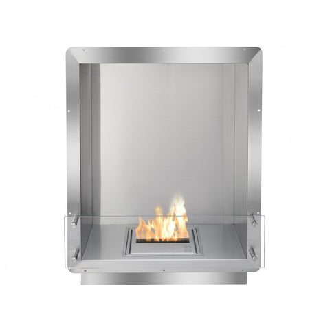 "Ignis 28"" Wide One-Sided Ethanol Burning Firebox - Ventless Fireplace Pros"