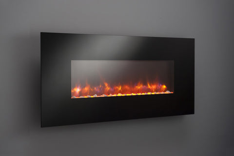 "58"" Linear Electric Fireplace"