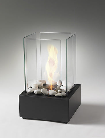 Eco-Feu Joy Matte Black Biofuel Fireplace
