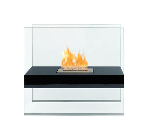 Madison Indoor/Outdoor Biofuel Floor Fireplace - Ventless Fireplace Pros