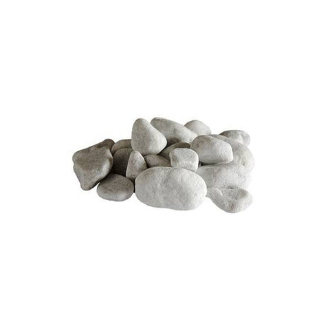 Bio Blaze White Decorative Stones