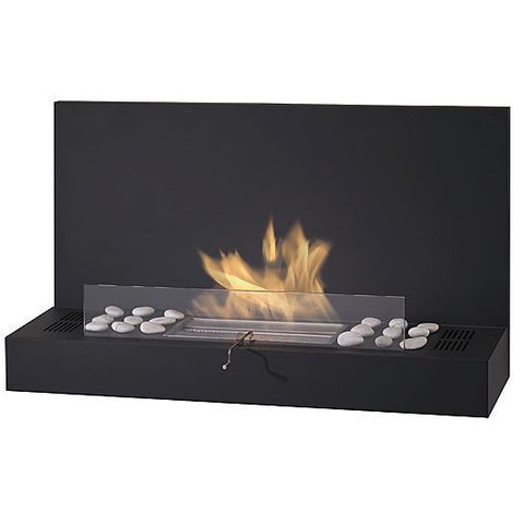 Eco-Feu Prague Wall Mount Ventless Fireplace