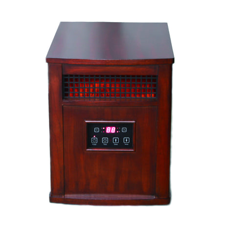 Portable Comfort Furnace in Heritage Cherry