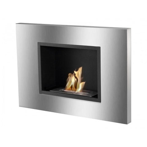 Quadra Bio Ethanol Recessed Fireplace - Ventless Fireplace Pros