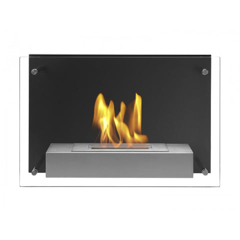 Senti Bio Ethanol Wall Mount Fireplace - Ventless Fireplace Pros