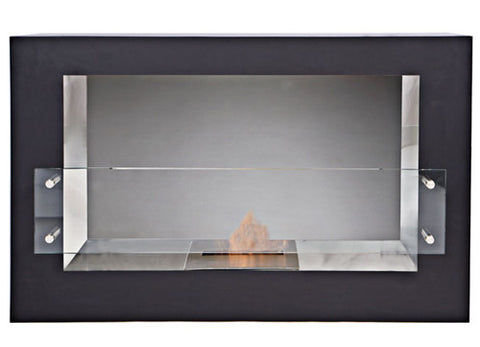The Bio Flame Argento – Single Sided Bio-Ethanol Fireplace