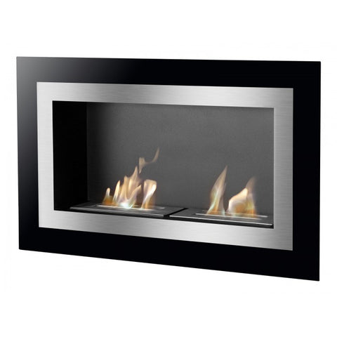 Villa Bio Ethanol Wall Mount or Recessed Fireplace - Ventless Fireplace Pros