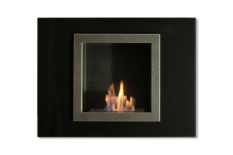Villa Mini Bio Ethanol Wall Mount or Recessed Fireplace