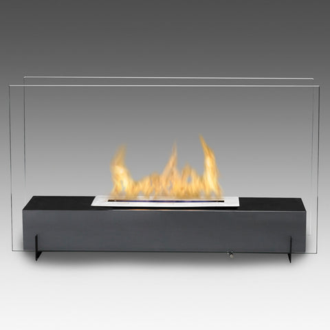 Eco-Feu Vision I Free Standing Biofuel Fireplace - Ventless Fireplace Pros