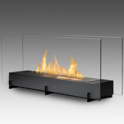 Eco-Feu Vision II Free Standing Biofuel Fireplace - Ventless Fireplace Pros