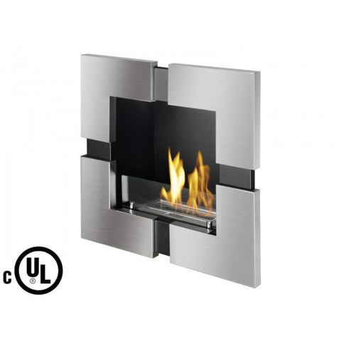 okio Recessed Ventless Ethanol Fireplace - Ventless Fireplace Pros