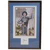 St Joan of Arc at Orleans with Signature, 17.25 x 26 (framed)