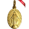 3/4 in. Miraculous Medal, gold plated
