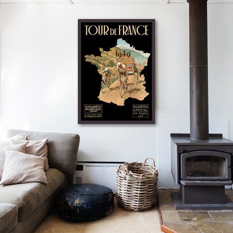 Tour de France 1949 Wall Art