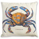 Crab Linen Cushion