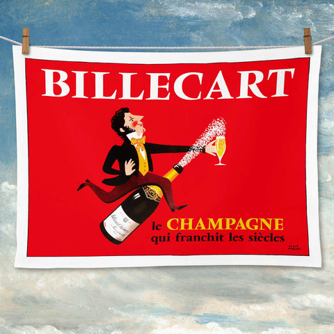Billecart Tea Towel