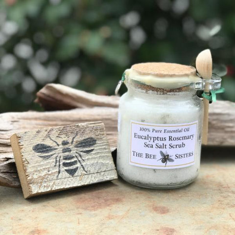 Eucalyptus Rosemary Sea Salt Scrub