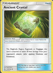 Pokemon Ultra Prism #118 ANCIENT CRYSTAL Uncommon Trainer