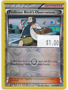PROFESSOR BIRCH'S OBSERVATION