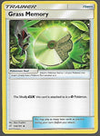 Pokemon Team Up #143 GRASS MEMORY Uncommon Trainer