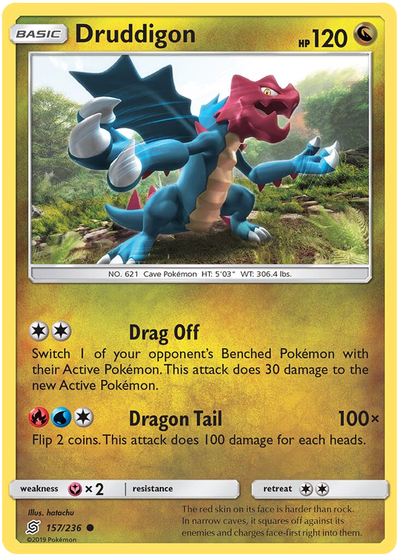 Unified Minds Druddigon