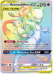 Unified Minds Mewtwo & Mew GX