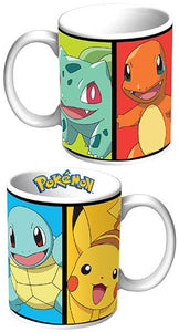 Pokemon Coffee Mug Kanto Starter