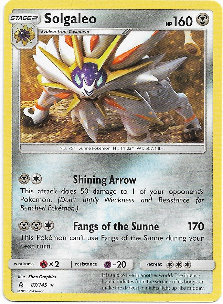 SOLGALEO GUARDIANS RISING