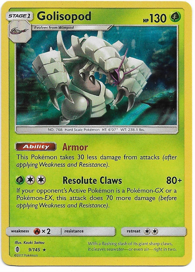 Golisopod guardians rising