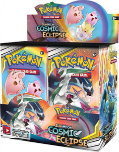Pokemon Cosmic Eclipse BOOSTER BOX (36 Packs) Sealed Unopened Box