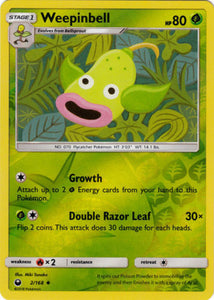 Pokemon Celestial Storm #2/168 Weepinbell