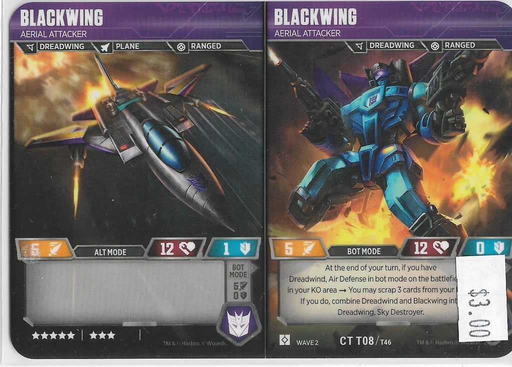 TRANSFORMERS BLACKWING